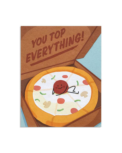 You Top Everything Card - M.Lovewell