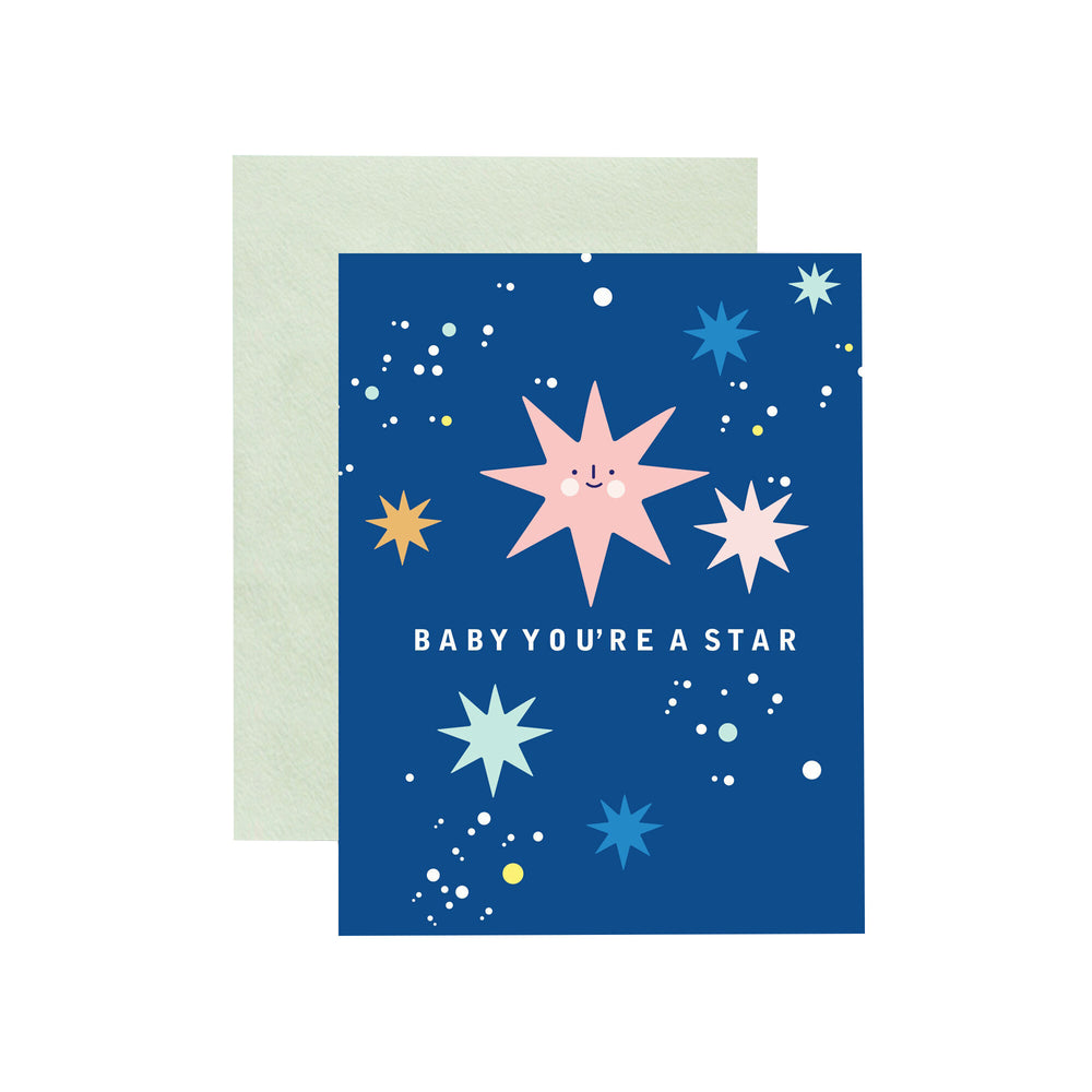 Baby You're a Star Card - M.Lovewell