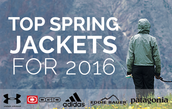 The Best Spring Jackets of 2016 are Waiting for Your Logo