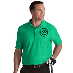 Men's Golf Polo with Custom Embroidered Company Logo