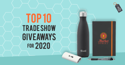 2020 tradeshow - 9 Inspiring Trade Show Giveaways: Updated 2020