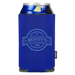 Koozie Royal Blue Collapsible Can Kooler