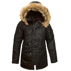 Alpha Industries Women's Black N-3B Parka