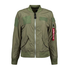 Alpha Industries Women's Sage Green L-2B Flex Flight Jacket
