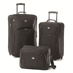 American Tourister Black Fieldbrook2 Three-Piece Set
