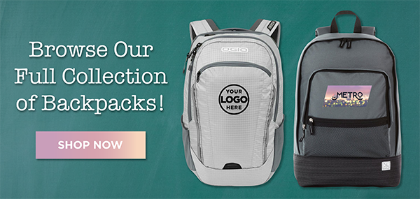Shop Custom Backpacks with Your Embroidered Logo