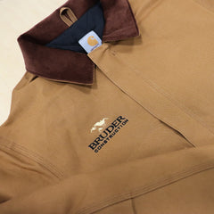 Custom Embroidered Construction Jackets