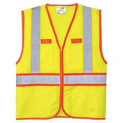 CornerStone Safety Yellow ANSI 107 Class 2 Dual-Color Safety Vest
