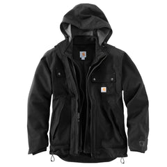 Carhartt Men's Black Quick Duck 3 in 1 Rockwall Jacket