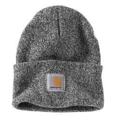 Carhartt Men's Black White Acrylic Watch Beanie