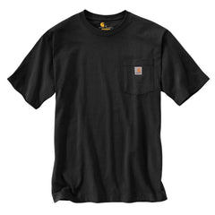 Carhartt Men's Black Workwear Pocket Short Sleeve T-Shirt