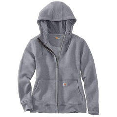 Carhartt Women's Asphalt Heather Clarks Burg Full-Zip Hoodie