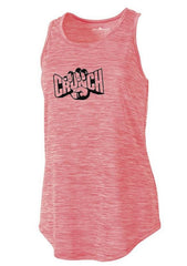 Charles River Women's Pink Space Dye Fitness Tank