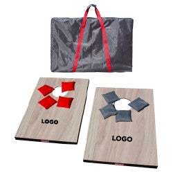 Coleman Wooden Bean Bag Toss Game with Company Logo