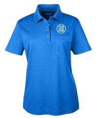 Core 365 Women's True Royal Origin Performance Pique Polo with Pocket