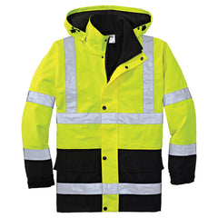 Cornerstone Safety Yellow ANSI 107 Class 3 Waterproof Parka