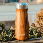 Keep your team hydrated throughout the day with custom logo branded S'well Traveler Mugs