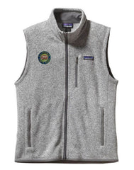Custom Patagonia Better Sweater Vest with Embroidered Park Logo