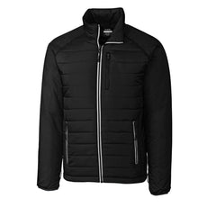 Cutter & Buck Men's Black Barlow Pass Jacket