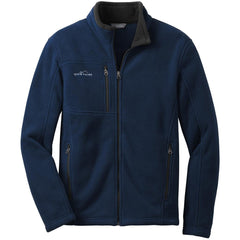 Eddie Bauer Men's River Blue Full-Zip Fleece Jacket