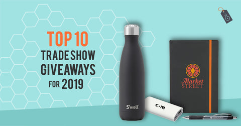 Top 10 Trade Show Giveaways for 2019 | Custom Logo Promotional Items