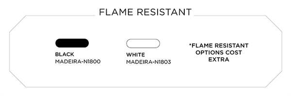 Fire Resistant Thread Color Options for Embroidery