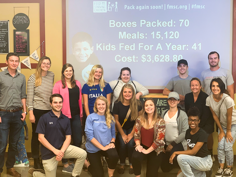 Feed My Starving Children Volunteer Event