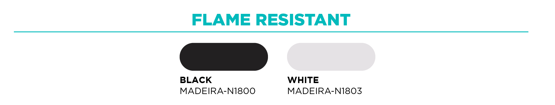Flame Resistant Thread Color Options for Embroidery