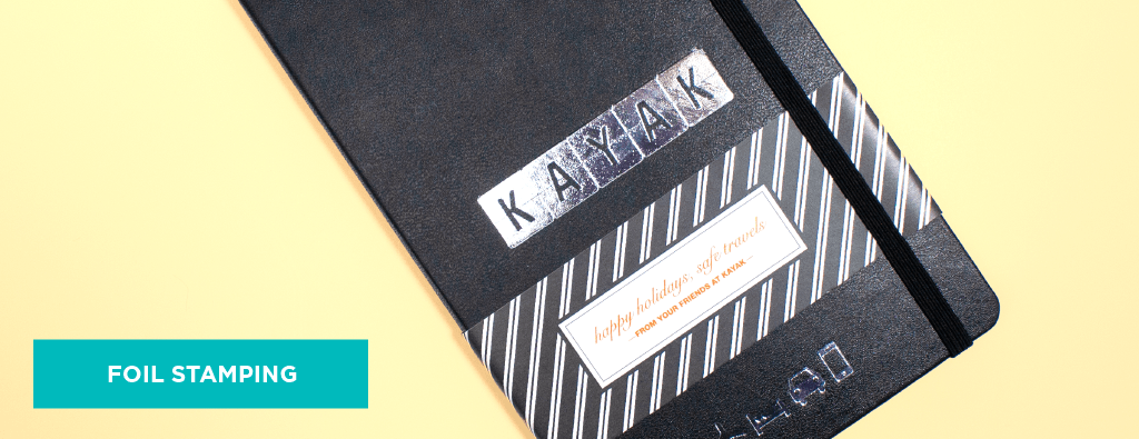 Custom Hot Foil Stamped Notebook