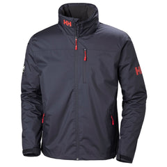 Helly Hansen Men's Graphite Blue Crew Hooded Midlayer Jacket