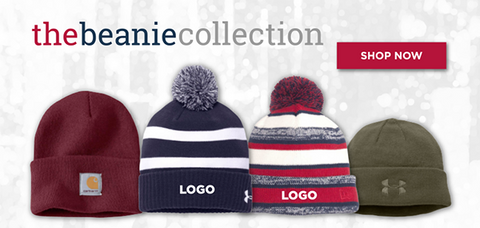 Custom Beanie Hats with Embroidered Logos