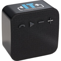 Leeds Black Wifi Bluetooth Speaker with Amazon Alexa Front