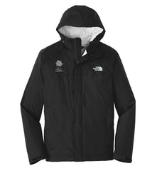 The North Face Men's Black Dryvent Rain Jacket