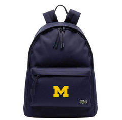 Michigan Logo Lacoste Backpack