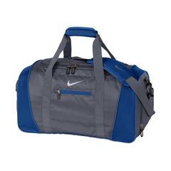 Nike Charcoal Grey True Blue Medium Duffel