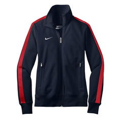Nike Women's Navy and Red N98 Track Jacket