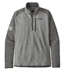 Patagonia Men's Nickel with Forge Grey Better Sweater Quarter Zip 2.0