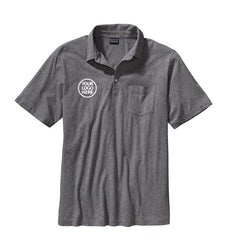 Patagonia Men's Feather Grey Squeaky Clean Polo