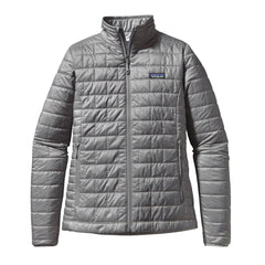 Patagonia Women's Feather Grey Nano Puff Jacket