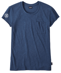 Patagonia Women's Stone Blue Mainstay Tee