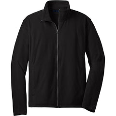 Port Authority Men's Black Microfleece Jacket