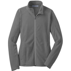 Port Authority Women's Pearl Grey Microfleece Jacket
