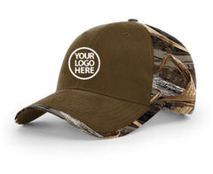 Richardson Buck and Max5 Duck Cloth Front with Camo Back Cap