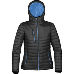 Stormtech Women's Black/Marine Blue Gravity Thermal Jacket