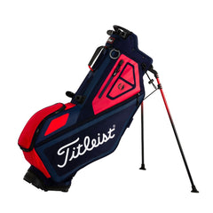 Titleist Navy/Red Players 4 Stand Bag