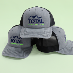 Custom Embroidered Promotional Hats for Construction Companies
