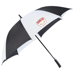 Totes Black and White 60 inch SunGuard Auto Open Golf Umbrella