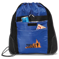 Tough Mudder Logo Custom Drawstring Bag