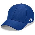 Add your custom company logo to fitted Under Armour baseball caps and hats