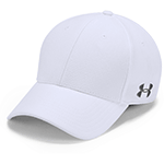 Add your company logo to custom Under Armour Hats and get them fast with Merchology